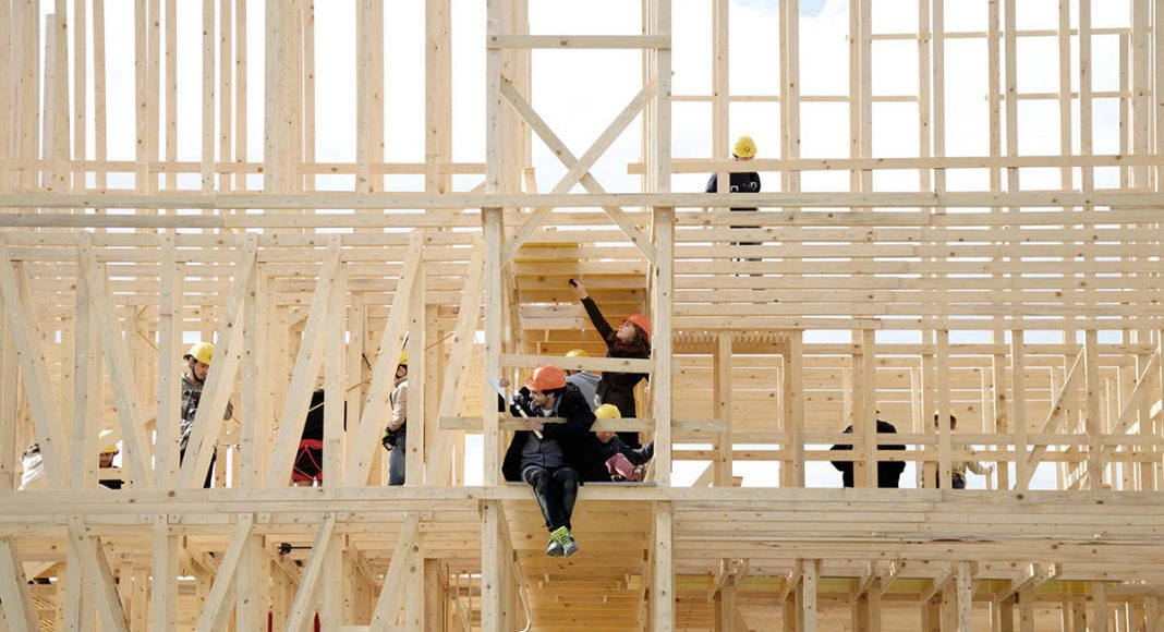 HOUSE ONE Construction : Photo © Alessandra Ortelli - ALICE EPFL