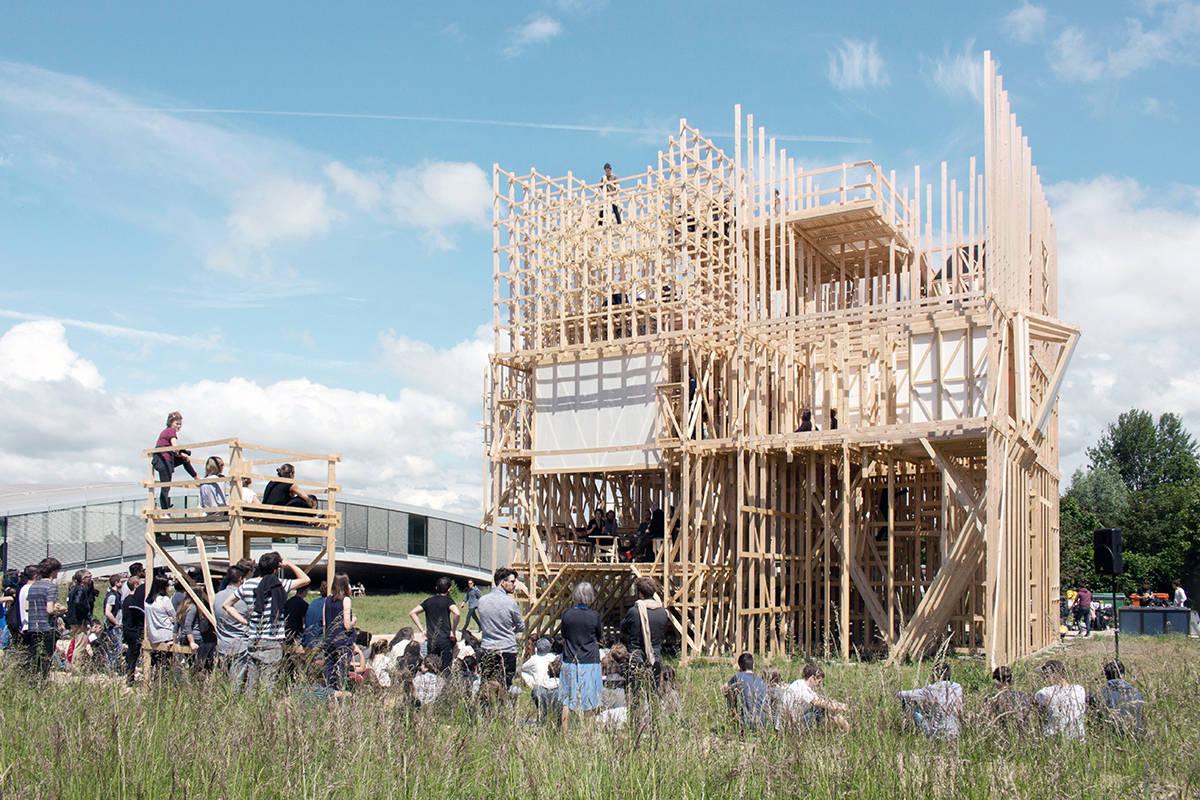 HOUSE ONE Realization : Photo © Aloys Mutzenberg - ALICE EPFL