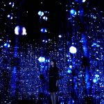 Crystal Universe Instalación Digital Interactiva by teamLab : Photo © teamLab Inc.