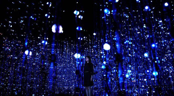 Crystal Universe Instalación Digital Interactiva by teamLab : Photo © teamLab Inc.