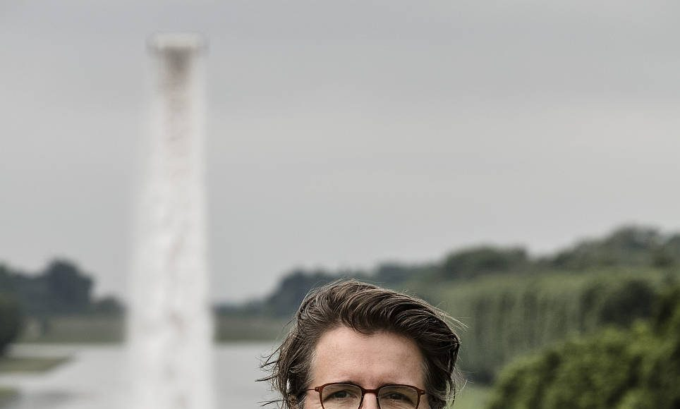 Portrait of Olafur Eliasson. Palace of Versailles, 2016. Photo Anders Sune Berg © Olafur Eliasson