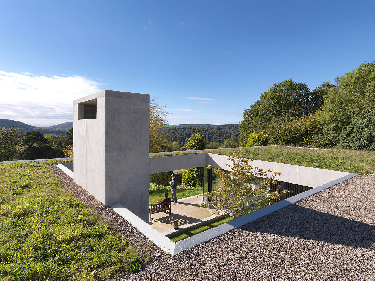 Outhouse by Loyn & Co. in Forest of Dean, Gloucestershire, England : Photo credit © CHARLES HOSEA