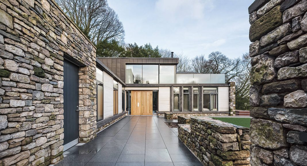 Private House in Cumbria by Bennetts Associates in Cumbria, England : Photo credit © Brian Ormerod