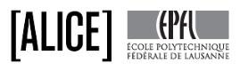 Logo © Atelier de la conception de l'espace ALICE EPFL