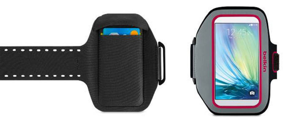 Sport-Fit Plus Armband for Galaxy (F8M942) : Photo credit © Belkin