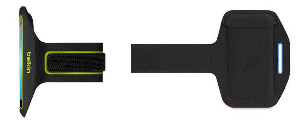 Universal Armband Small (F8M952) y Universal Armband Large (F8M953) : Photo credit © Belkin