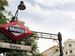 Detalle del acceso a la Estación Goya : Fotografía © Metro de Madrid