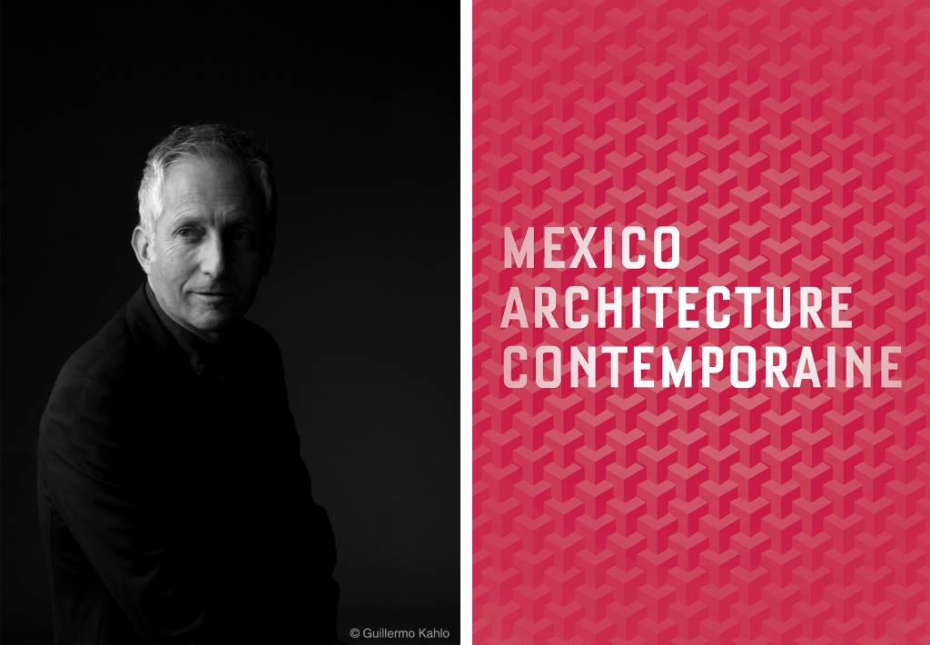 Dr. Bernardo Gómez-Pimienta : Fotografía © Guillermo Kahlo - Cartel de la Exposición México Arquitectura Contemporánea 2005-15, cortesía de © bgp arquitectura