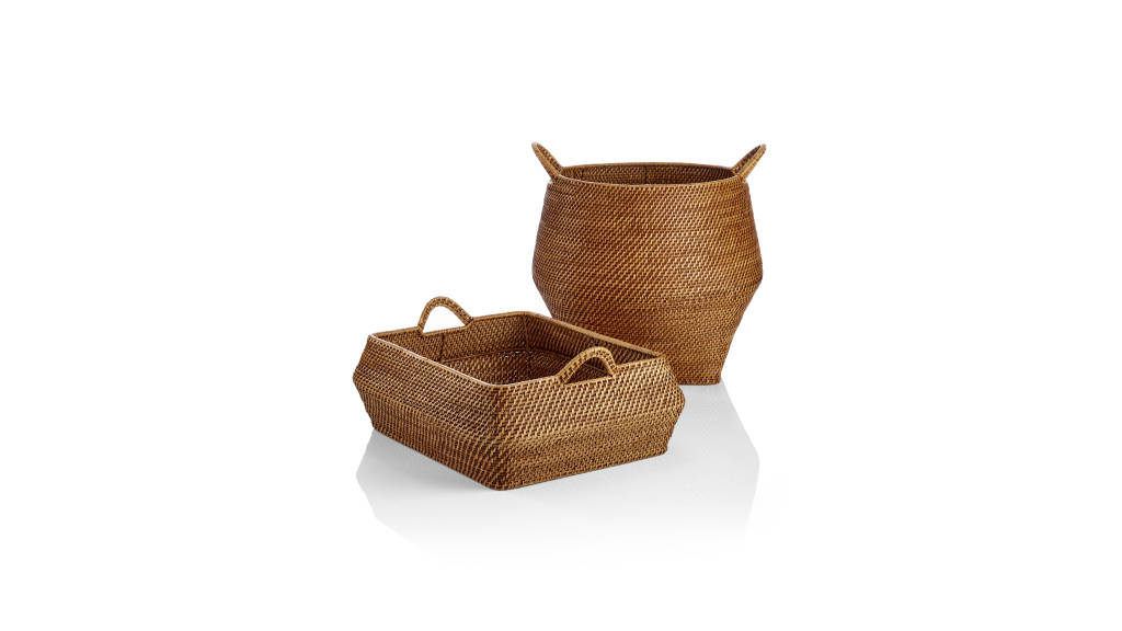 Nito Baskets : Photo © Crate & Barrel
