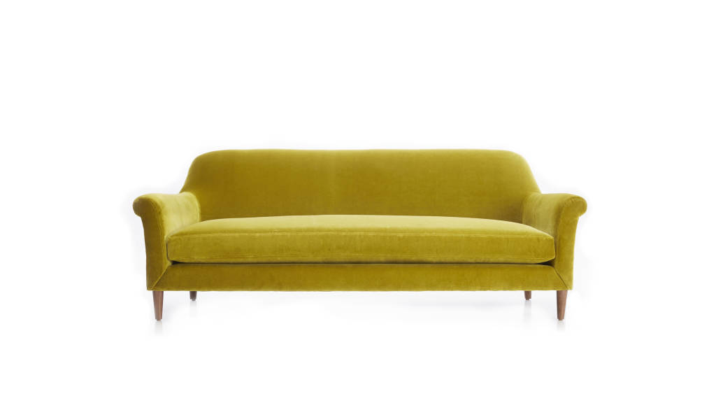 Cullen II90 in Sofa Como Verde : Photo © Crate & Barrel