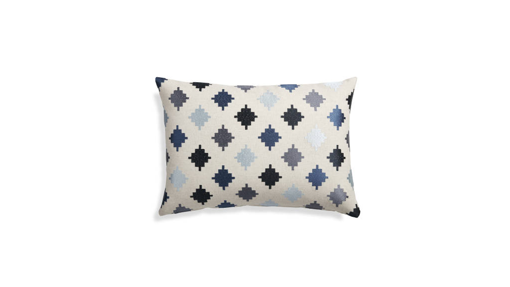 Dario Pillow : Photo © Crate & Barrel