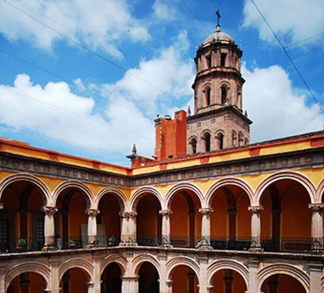 El Museo Regional de Querétaro está ubicado en el antiguo Convento de San Francisco, construcción del siglo XVI : Foto © Héctor Montaño INAH