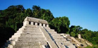 Templo de las Inscripciones. Zona Arqueológica de Palenque : Foto © INAH