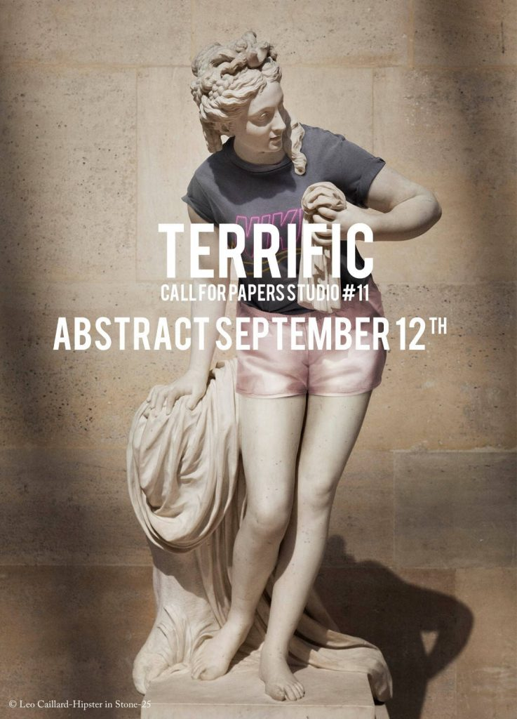STUDIO #11 TERRIFIC : Poster © Leo Caillard-Hipster in Stone-25