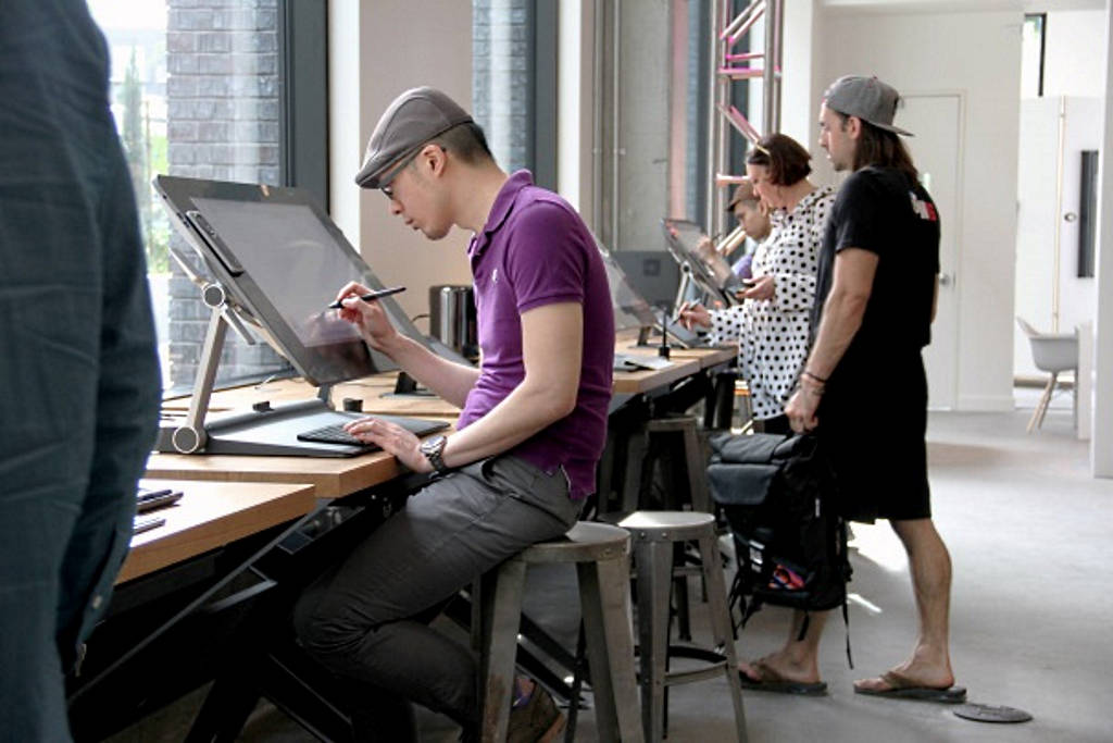 El Nuevo Experience Center de Wacom, en el Pearl District de Portland : Photo © Wacom