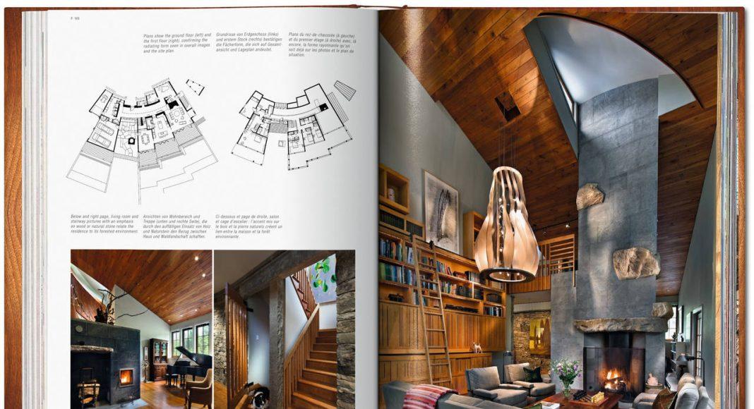 100 Contemporary Wood Buildings by Philip Jodidio, Tapa dura, estuche con 2 vols., 24 x 30.5 cm, 656 páginas : Image © TASCHEN