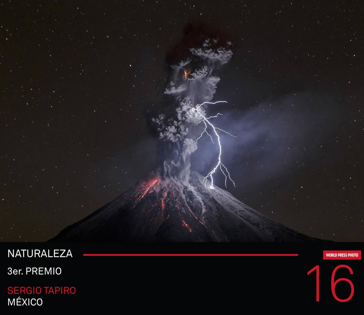 World Press Photo 16 Tercer Premio en la Categoría Naturaleza : Photo © Sergio Tapiro de México