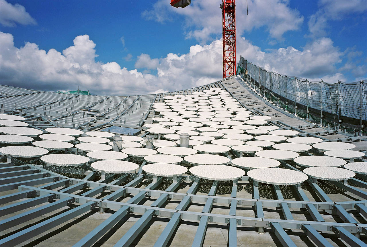 Elbphilharmonie Hamburg Roof Structure : Photo credit © Oliver Heissner, courtesy of Elbphilharmonie Hamburg