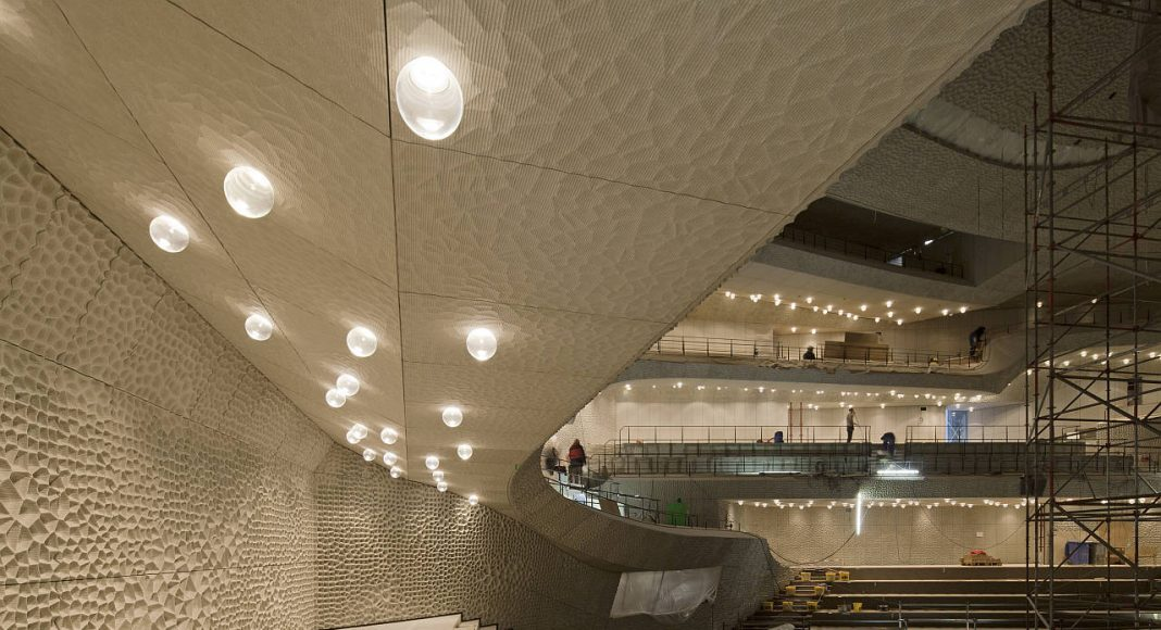 Elbphilharmonie Hamburg Grand Hall : Photo credit © Oliver Heissner, courtesy of Elbphilharmonie Hamburg