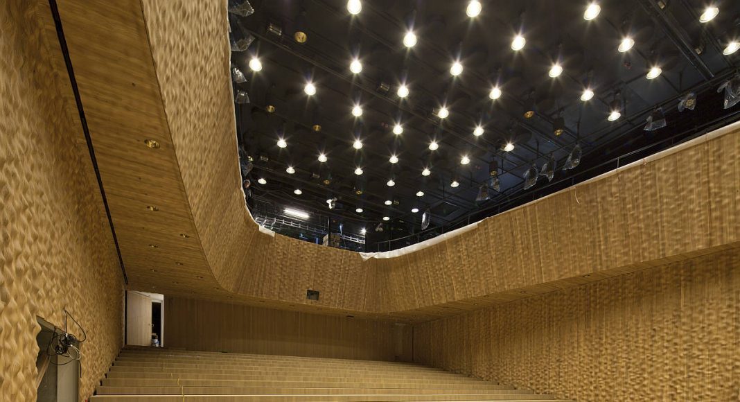 Elbphilharmonie Hamburg Recital Hall : Photo credit © Oliver Heissner, courtesy of Elbphilharmonie Hamburg