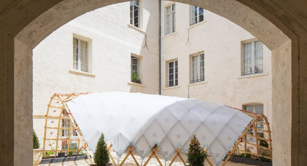 [ Dé ] tendu by Ecole Nationale Supérieure d'Architecture de Toulouse Quaternion - Marie Lambert, Simon Hulin et Mathieu Sudres : Photo credit © Paul KOZLOWSKI © www.photoarchitecture.com