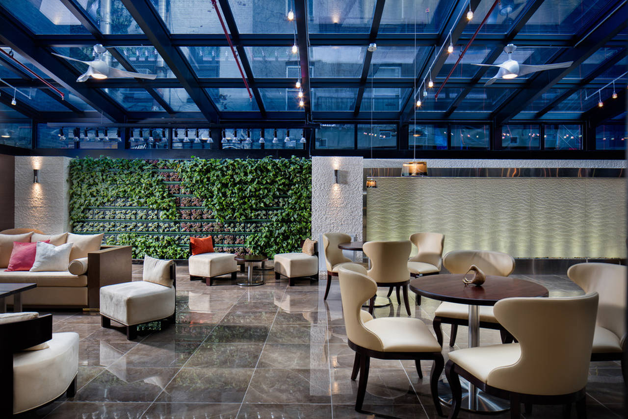 New Design Concept for the Holiday Inn Brooklyn designed by Escobar Design by Lemay : Photo credit © Inessa Photography