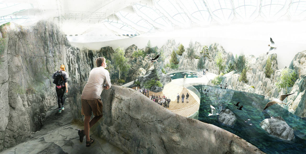Montreal Biodome Science Museum St-Lawrence River Ecosystem : Photo credit © KANVA