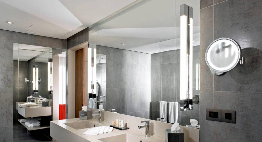 Radisson Blu Marrakech Business Class Room Bathroom : Photo credit © Atelier Pod