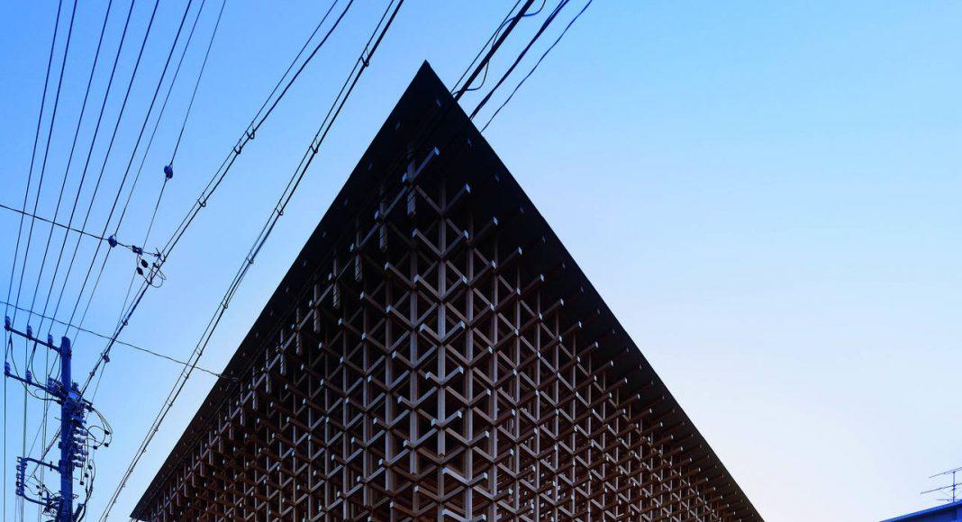 Kengo Kuma, GC Prostho Museum Research Center : Copyright © Kengo Kuma & Associates for Glass Wood House