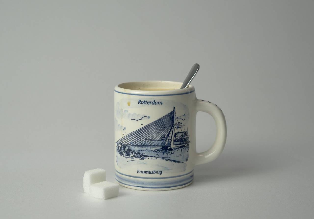 Erasmus Bridge Souvenir Mug : Photo courtesy of © Kunsthal Rotterdam
