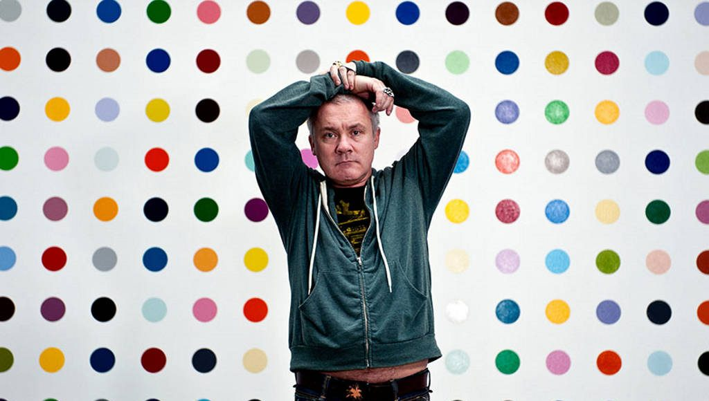 Damien Hirst is set to exhibit his 2000 piece art collection at his own space : Photo via © skyw