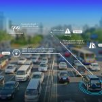 Traffic probe data combined with sensor technology can make driving safer : Photo © HERE
