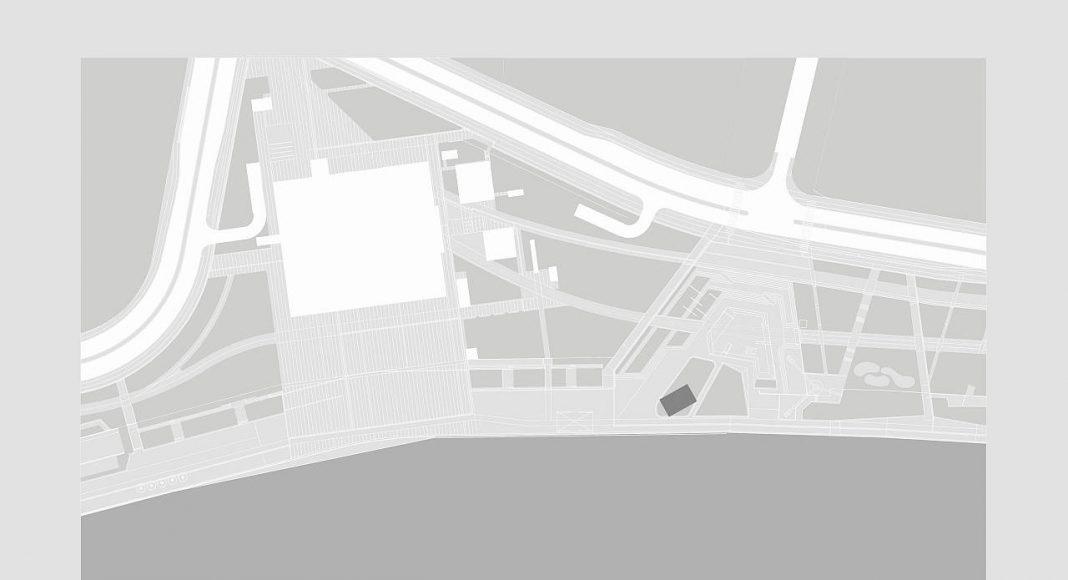 The Cloud Pavilion Site Plan by Schmidt Hammer Lassen Architects : Drawing © Schmidt Hammer Lassen Architects