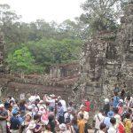 El templo de Angkor, Camboya, está siendo puesto bajo enorme presión por los turistas : Imagen cortesía de © Planet Asia
