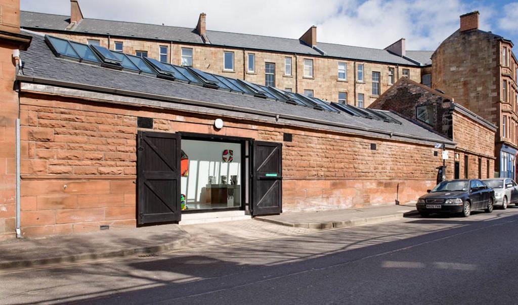 Una de las casas de baño más antiguas de Glasgow alberga hoy una de las galerías de arte privadas más importantes del mundo : Photo credit © RMJM
