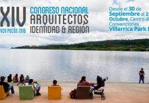 XXIV Congreso Nacional de Arquitectos Araucania 2016 : Fotografía © Colegio de Arquitectos de Chile