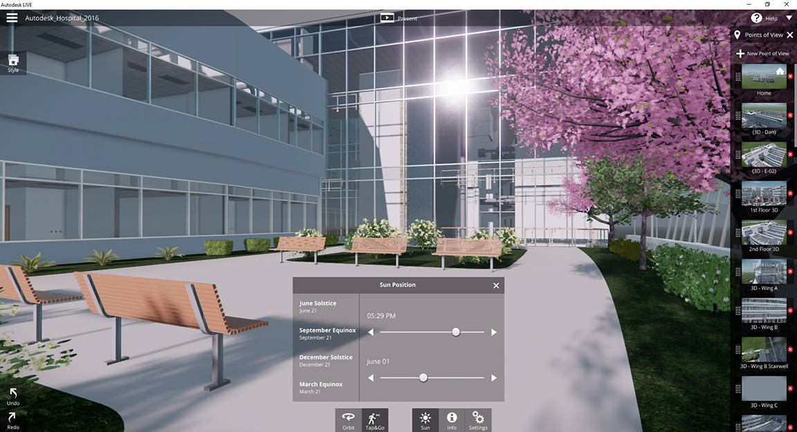 Autodesk LIVE Editing Tools to Express your Style : Photo © Autodesk