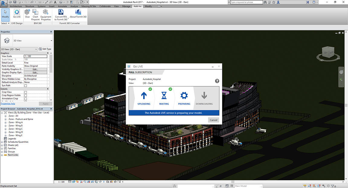 Autodesk LIVE Fast Data preparation in the Cloud : Photo © Autodesk