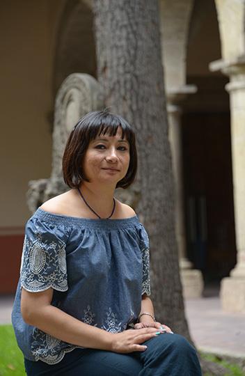 Martelva Gómez, directora del Museo Regional de Guadalajara : Foto © Héctor Montaño INAH