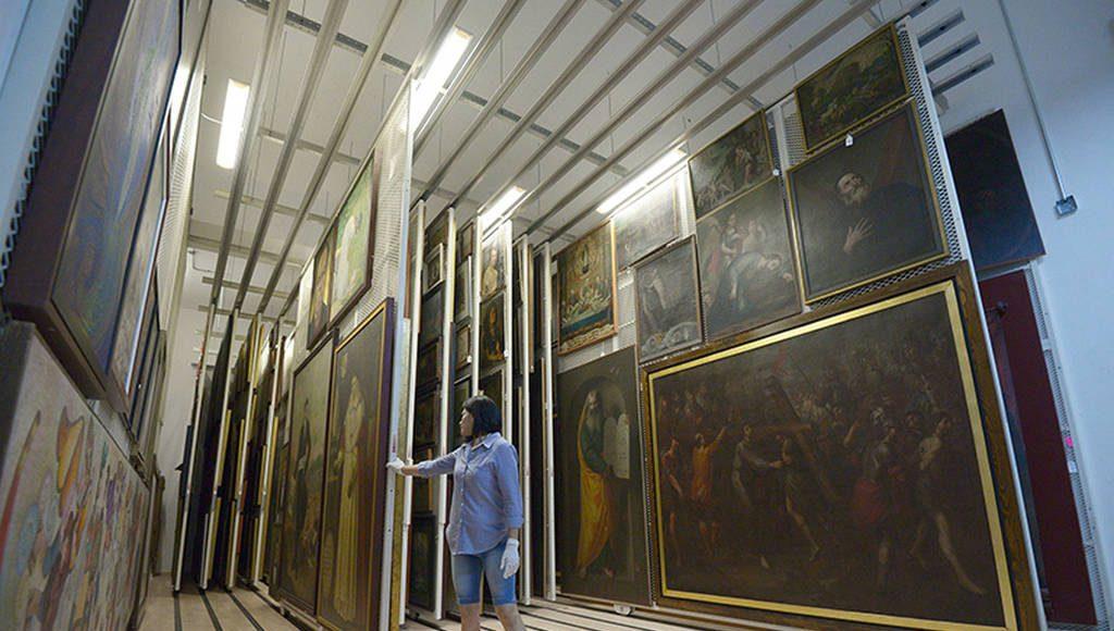 El museo cuenta con un acervo d emás de 38, 000 números de inventario : Foto © Héctor Montaño INAH