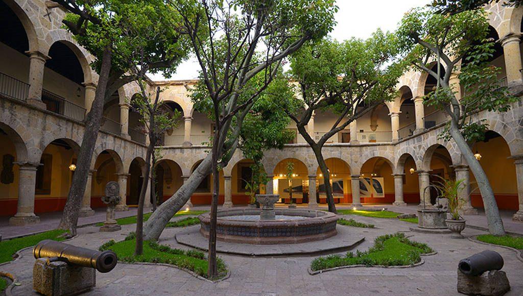 La construcción del edificio colonial comenzó el 9 de julio de 1616 : Foto © Héctor Montaño INAH