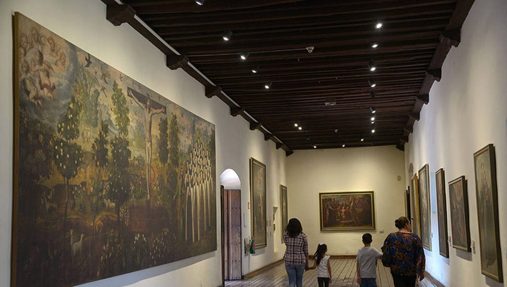 La nueva museografía contempla la vinculación de la arqueología, la historia y la pintura : Foto © Héctor Montaño INAH