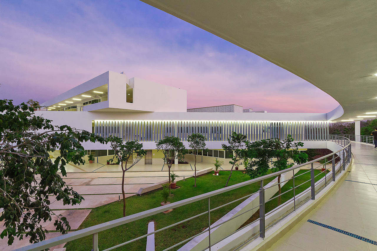 Facultad de Educación de la Universidad Autónoma de Yucatán, Mérida, Yucatán : Fotografía