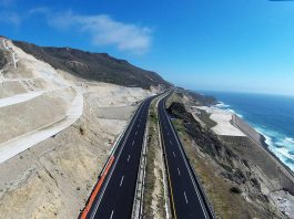 Restitución de Terraplén en Carretera Tijuana-Ensenada KM 93, Ensenada, Baja California : Fotografía cortesía de © Premio Obras Cemex