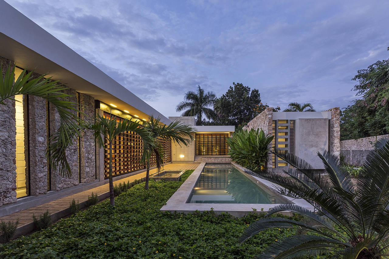 Casa JA Cholul, Mérida, Yucatán : Fotografía cortesía de © Premio Obras Cemex