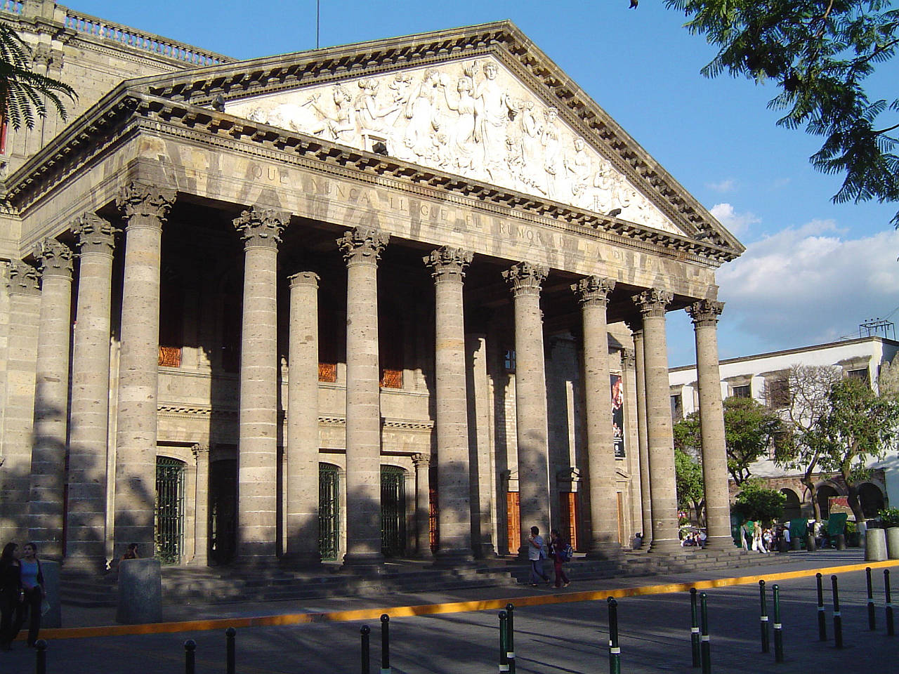 Teatro Degollado : Fotografía © Secretaría de Cultura de México