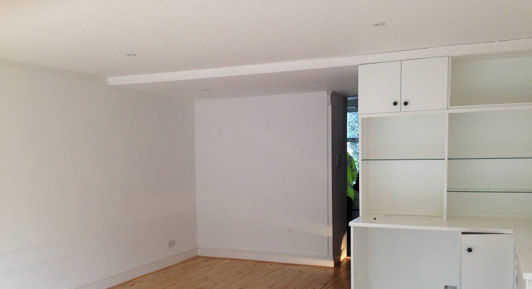 BEFORE Southwood Upper Ground Floor Living Room by LLI Design : Photo credit © LLI Design