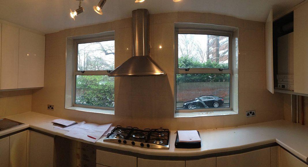 BEFORE Southwood Kitchen Overview by LLI Design : Photo credit © LLI Design