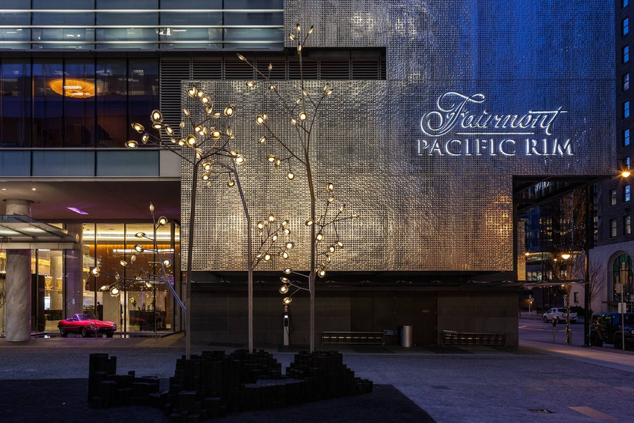 Fairmont Pacific Rim - Hotel Exterior : Photo credit © Fairmont Pacific Rim