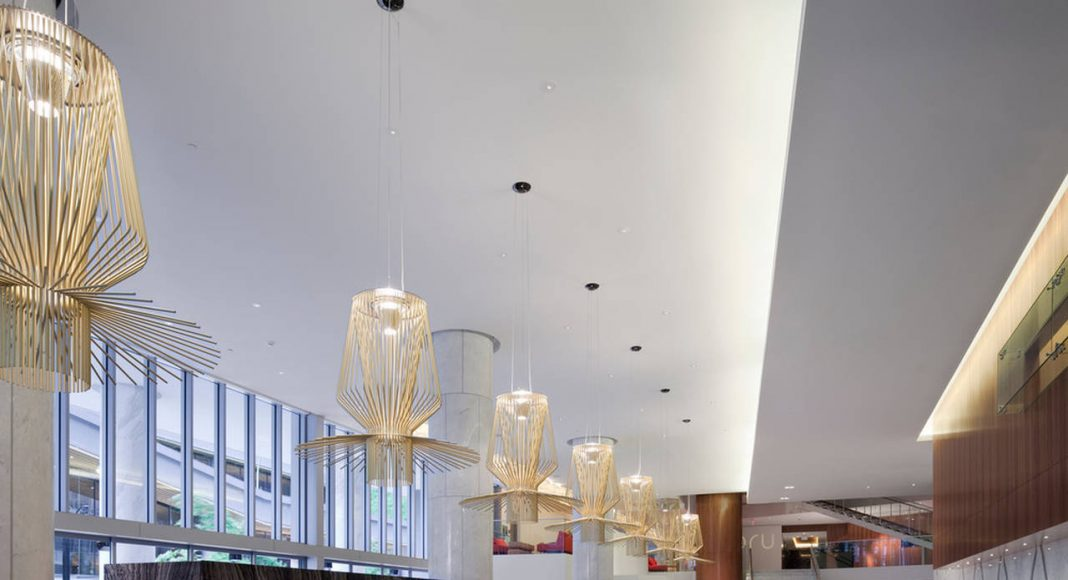 Fairmont Pacific Rim - Hotel Lobby : Photo credit © Fairmont Pacific Rim